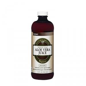Buy GNC Aloe Vera Gel Unflavoured Liquid - Nykaa