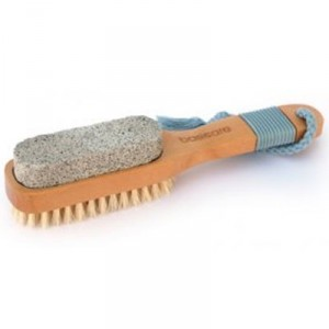 Buy Basicare Pedicure Brush With Pumice Stone - Nykaa