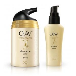Buy Olay Total Effects Gentle SPF 15 Cream Serum Regime I - Nykaa