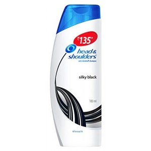 Buy Head & Shoulders Silky Black Anti Dandruff Shampoo - Nykaa