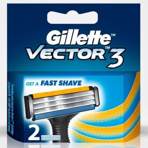 Buy Gillette Vector 3 2N Cartridges - Nykaa
