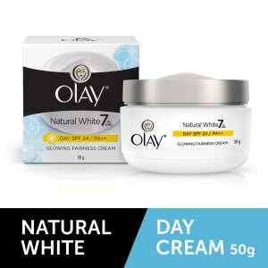 Buy Olay Natural White Natural Day SPF 24 Glowing Fairness Cream - Nykaa