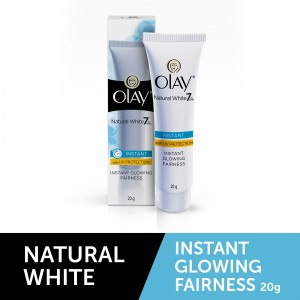 Buy Olay Natural White Light Instant Glowing Fairness Skin Cream - Nykaa