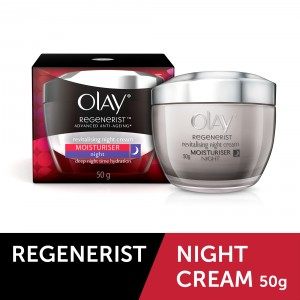 Buy Herbal Olay Regenerist Advanced Anti-Ageing Revitalizing Night Skin Cream (Moisturier) 50  Gm - Nykaa