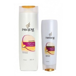 Buy Pantene Pro-V Hair Fall Control Shampoo 340 ml + Free Conditioner Worth Rs. 69 (Rs 90 off) - Nykaa