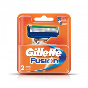 Buy Gillette Fusion Manual Shaving Razor Blades (Cartridge) 2s pack - Nykaa