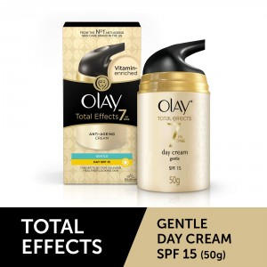 Buy Olay Total Effects 7 In One Anti-Ageing Cream Gentle SPF 15 - Nykaa