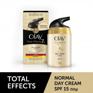 Buy Olay Total Effects 7 In One Anti-Ageing Cream Normal Day SPF 15 - Nykaa