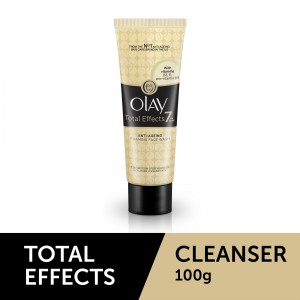 Buy Olay Total Effects 7 In One Anti-Ageing Foaming Face Wash - Nykaa