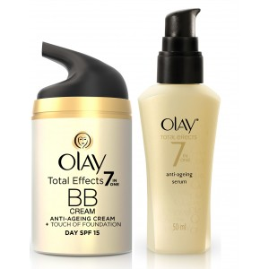 Buy Olay Total Effects BB Cream Serum Regime - Nykaa
