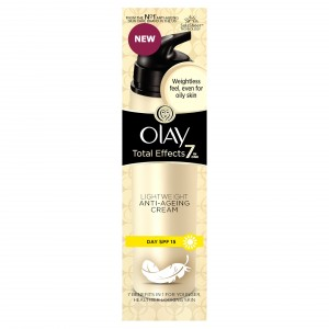 Buy Olay Total Effects 7 In One Light Weight Anti-Ageing Cream  Day SPF 15 (Rs.100 Off) - Nykaa