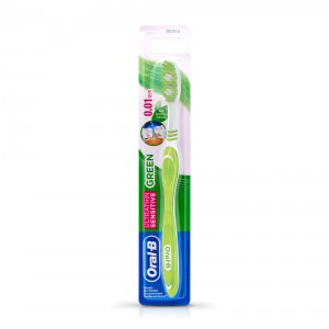 Buy Oral-B Ultrathin Sensitive Green Toothbrush - Nykaa