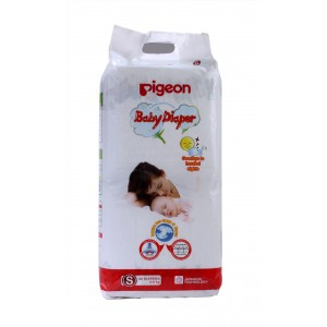Buy Pigeon Baby Diaper S Size - Nykaa