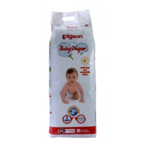 Buy Herbal Pigeon Baby Diaper XL Size - Nykaa