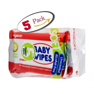 Buy Pigeon  5 In 1 Baby Wipes Chamomile - Nykaa