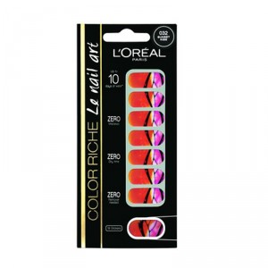 Buy L'Oreal Paris Miss Paradise Nail Art - Nykaa