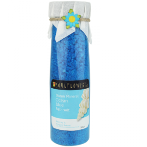 Buy Soulflower Bath Salt - Ocean Blue - Nykaa
