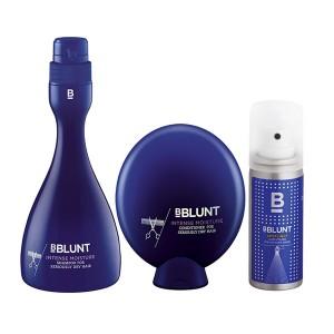 Buy BBLUNT Intense Moisture Shampoo + Conditioner, For Seriously Dry Hair + Mini Spotlight Hair Polish - Nykaa