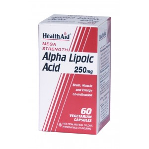 Buy HealthAid Alpha Lipoic Acid 250mg - Mega Strength - Nykaa
