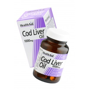Buy Herbal HealthAid Cod Liver Oil 1000mg - 30 Capsules  - Nykaa