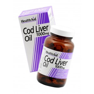 Buy Herbal HealthAid Cod Liver Oil 1000mg - 60 Capsules - Nykaa