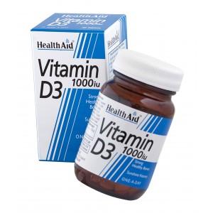 Buy HealthAid Vitamin D3 1000iu - Cholecalciferol - Nykaa