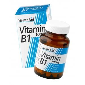 Buy HealthAid Vitamin B1 100mg - Thiamin - Nykaa