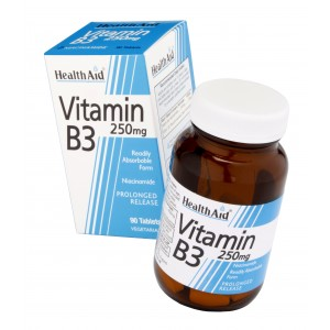 Buy HealthAid Vitamin B3 250mg - Nykaa