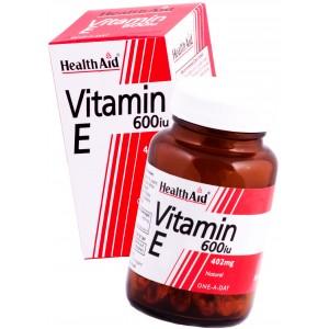 Buy HealthAid Vitamin E 600iu - D-Alpha Tocopherol - Nykaa