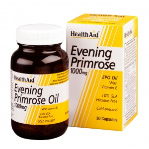 Buy HealthAid Evening Primrose Oil 1000mg With Vitamin E - 30 Capsules - Nykaa
