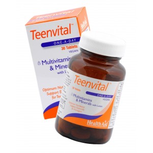 Buy HealthAid Teenvital - Multivitamin And Minerals with Lutein - Nykaa