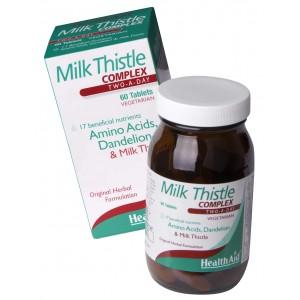 Buy HealthAid Milk Thistle Complex - Nykaa