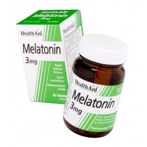 Buy HealthAid Melatonin 3mg - Nykaa