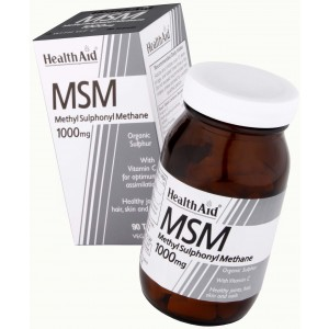 Buy HealthAid MSM 1000mg - Nykaa