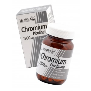 Buy Herbal HealthAid Chromium Picolinate 200ug - Nykaa