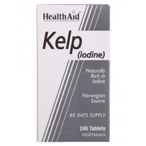 Buy HealthAid Kelp (Iodine) 240 Tablets - Nykaa