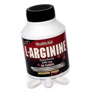 Buy Herbal HealthAid L-Arginine 500mg - Free Form - Nykaa