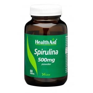 Buy HealthAid Spirulina 500mg - Nykaa