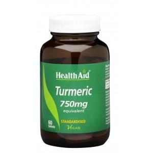Buy HealthAid Turmeric 750mg - Nykaa