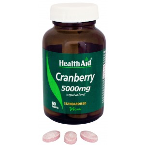 Buy HealthAid Cranberry 5000mg - Equivalent - Nykaa