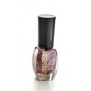Buy Makeup Revolution Glitter Nail Polish - Sensitive Heart - Nykaa