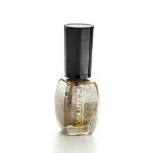 Buy Makeup Revolution Glitter Nail Polish - His Heart Is Gold - Nykaa