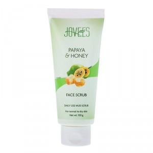 Buy Jovees Papaya & Honey Face Scrub - Nykaa