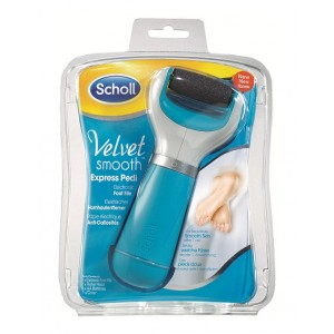 Buy Scholl Velvet Smooth Express Pedi Electronic Foot File - Nykaa