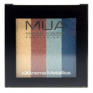 Buy MUA Extreme Metallic Quad Eyeshadows - Nykaa