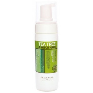 Buy Grace Cole Tea Tree & Witch Hazel Foaming Facial Wash - Nykaa