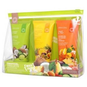 Buy Grace Cole Tropical Treats Shower Savior Mixed Fruit - Nykaa