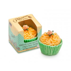 Buy Patisserie de Bain Guava And Passionfruit Cupcake Soap  - Nykaa