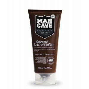 Buy ManCave Cedarwood Shower Gel - Nykaa