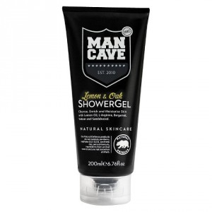 Buy ManCave Lemon & Oak Shower Gel - Nykaa